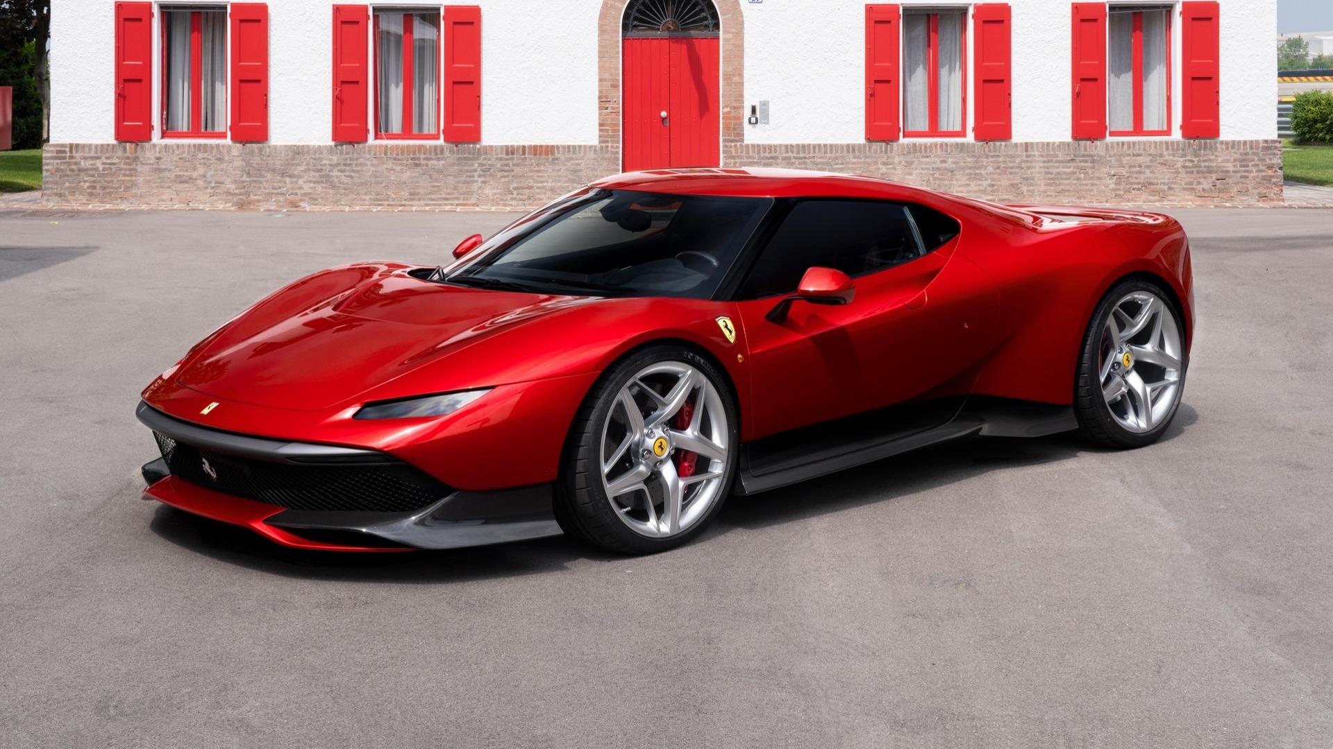 Ferrari SP38: um modelo único inspirado no F40