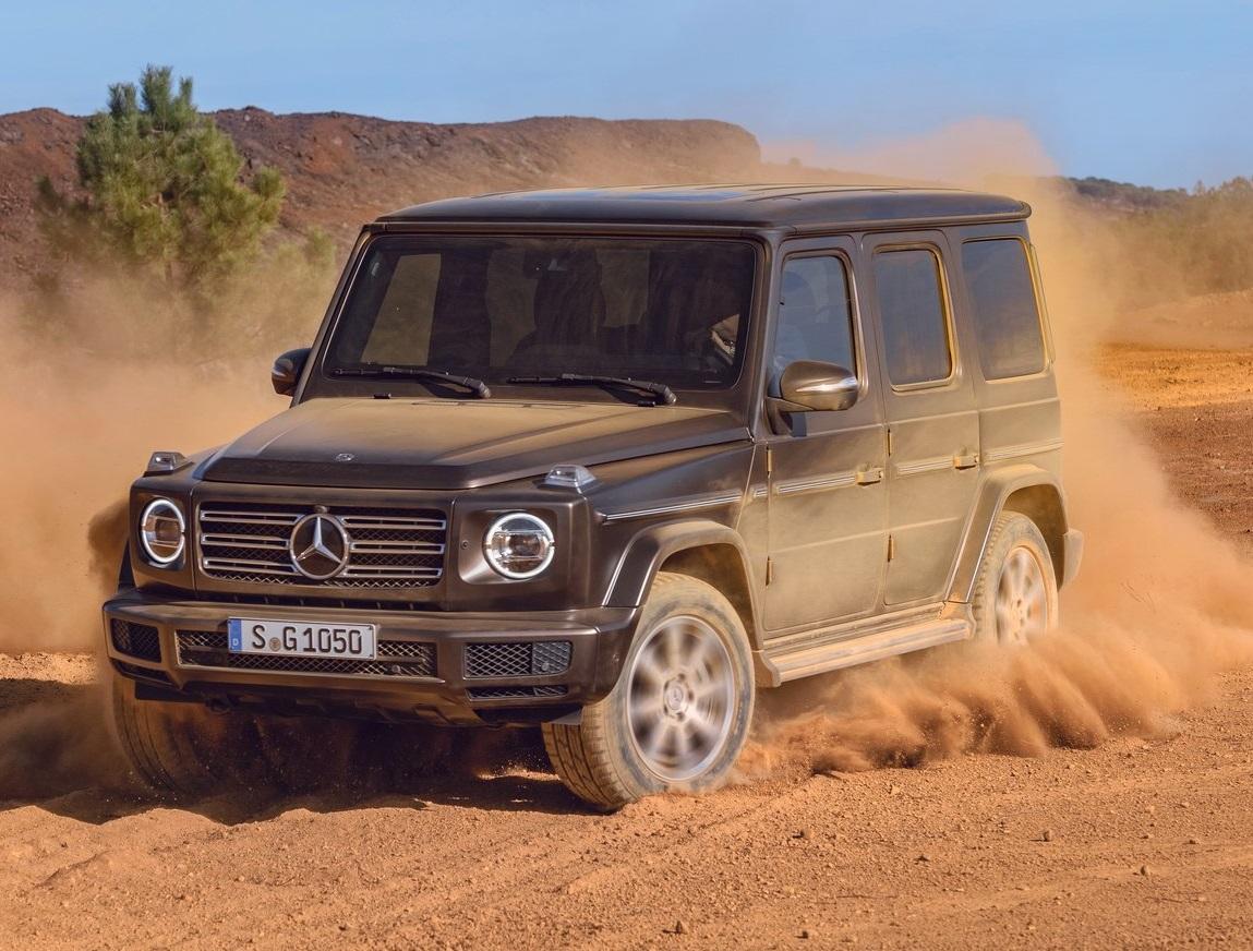 Mercedes-Benz Classe G: versão diesel prevista para Dezembro