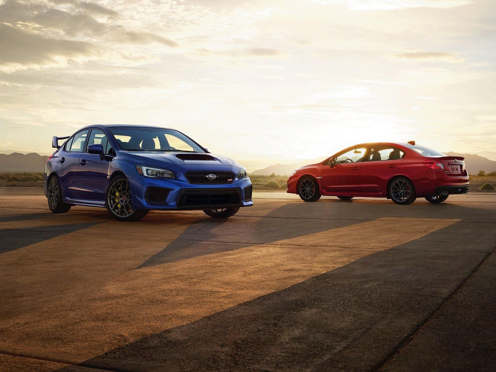 Subaru actualiza gama WRX