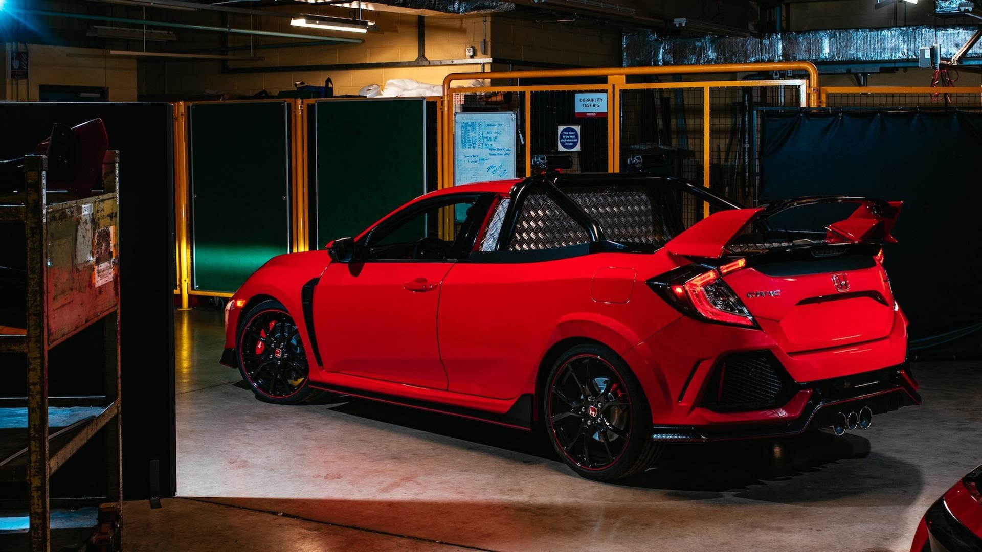 A Honda desenvolveu um Civic Type R pickup!