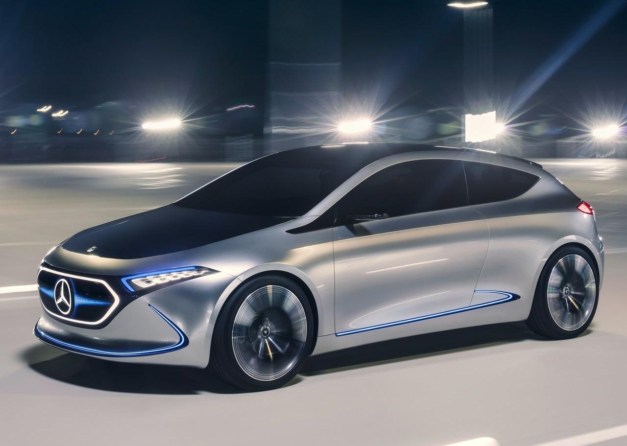 Mercedes-Benz publica vídeo do eléctrico EQA em acção