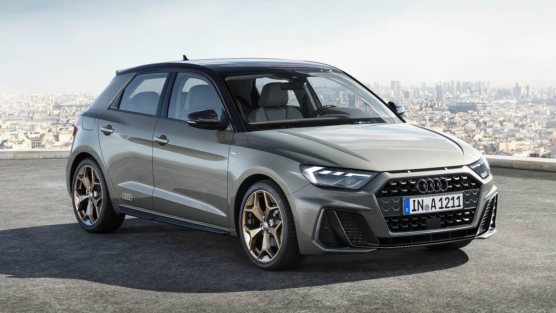 Revelado ontem, o novo Audi A1 está mais agressivo