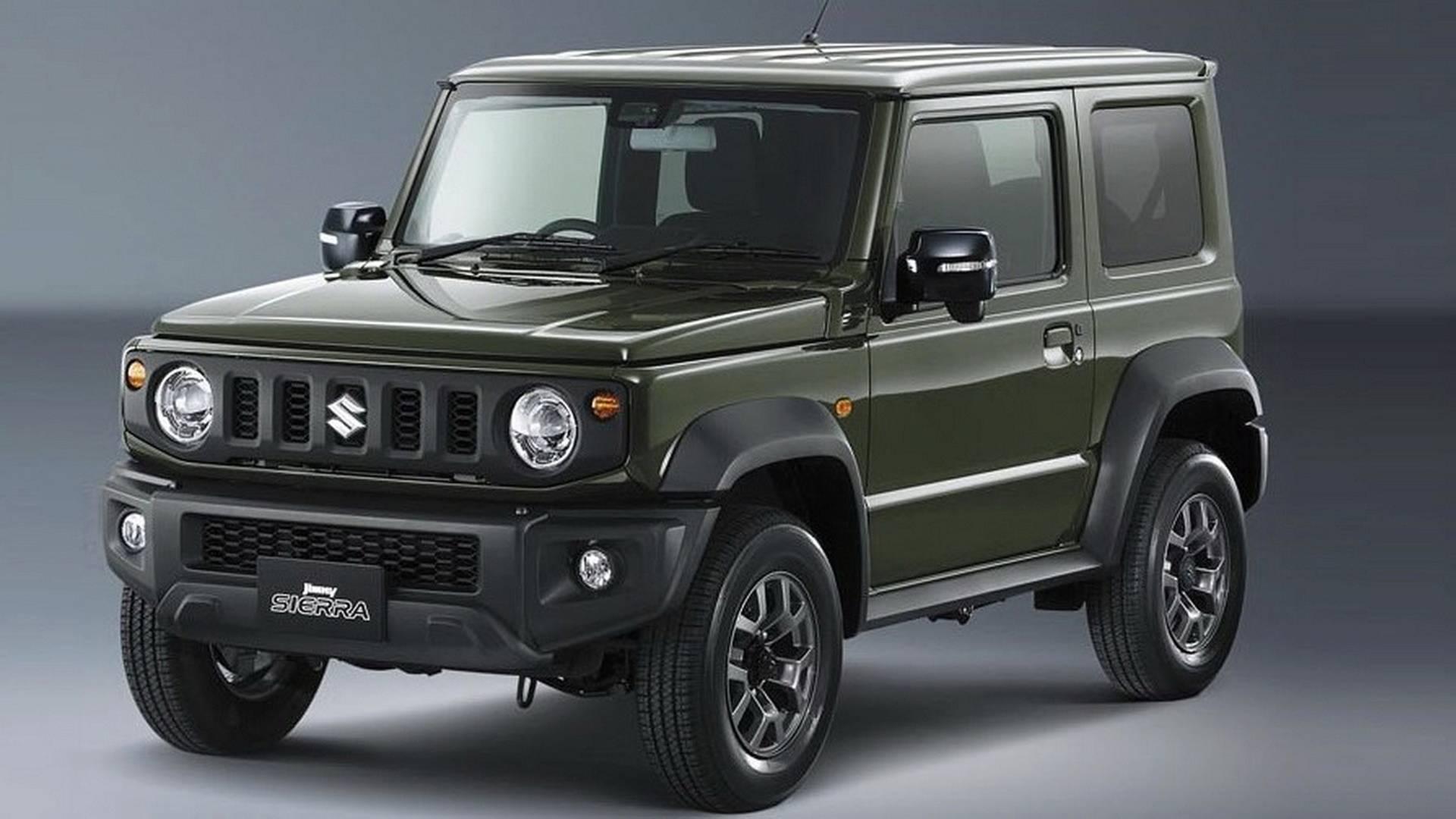 Suzuki publica primeiras imagens oficiais do novo Jimny