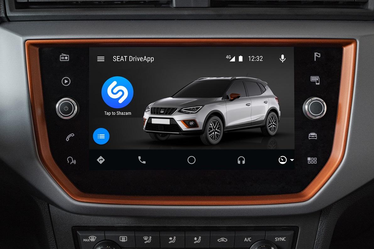 Seat integra aplicação Shazam nos seus modelos