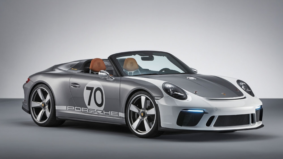 Porsche celebra 70º aniversário com 911 Speedster