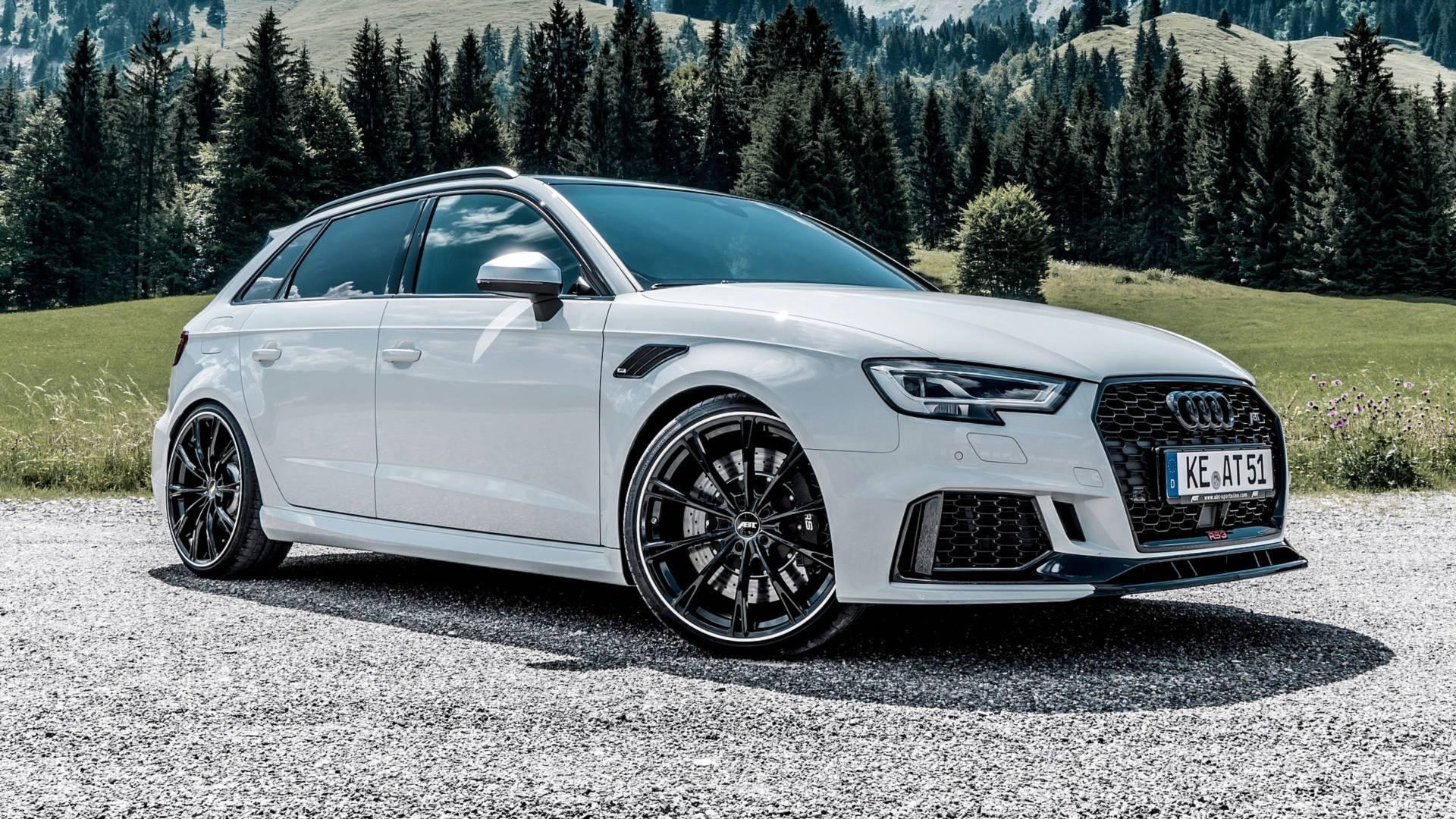 Imponentes jantes e 500 cv de potência, a receita da ABT para o Audi RS3 Sportback