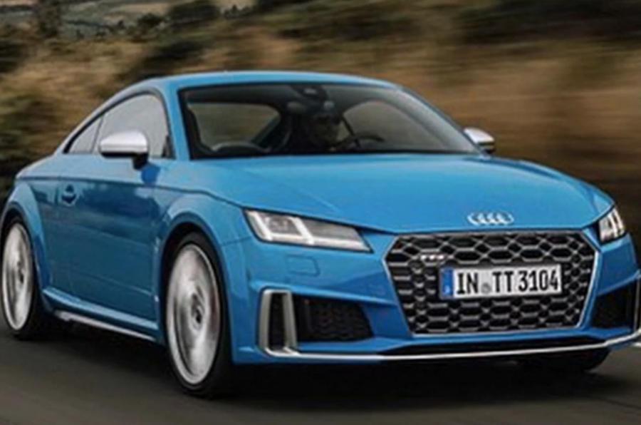 As primeiras imagens do novo Audi TT já circulam online
