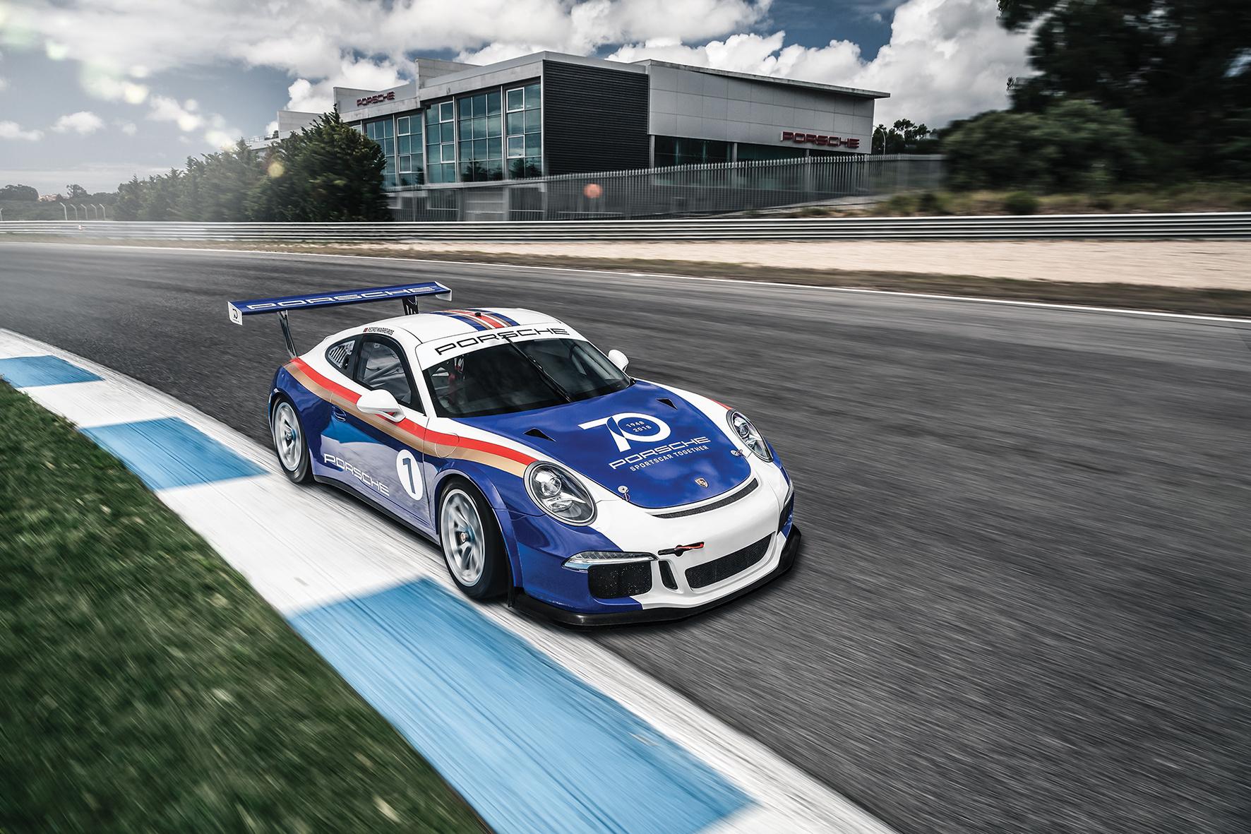Porsche celebra 70º aniversário no circuito do Estoril