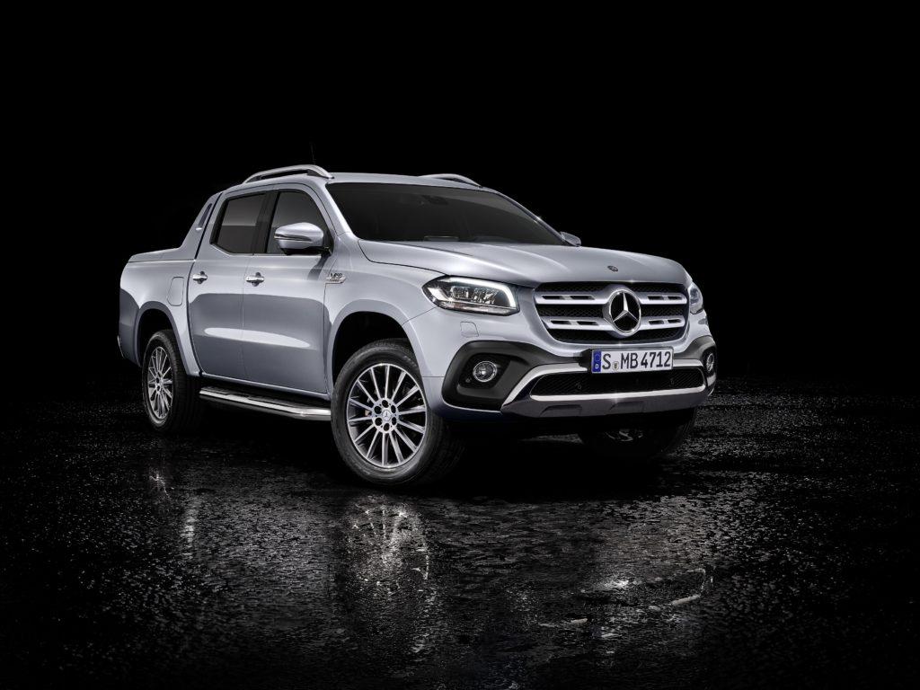 88. Internationaler Genfer Auto-Salon 2018: Weltpremiere: Mercedes-Benz Vans bringt die X-Klasse mit Sechszylindermotor und permanentem Allradantrieb