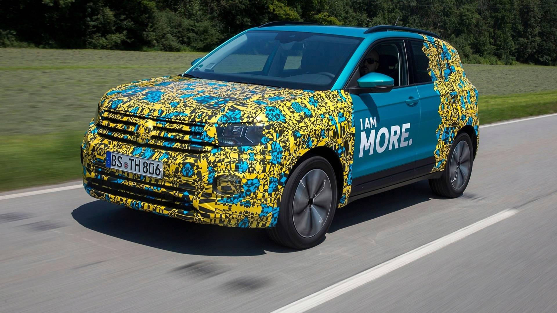 Volkswagen desvenda novas imagens e informação do T-Cross