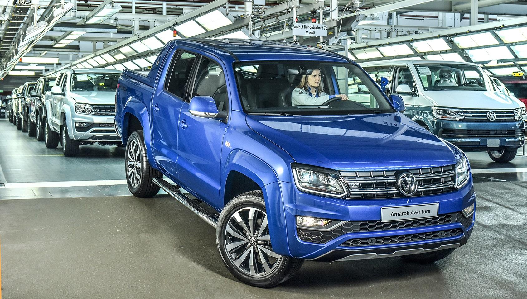 Volkswagen Amarok V6 de 258 cv já está disponível