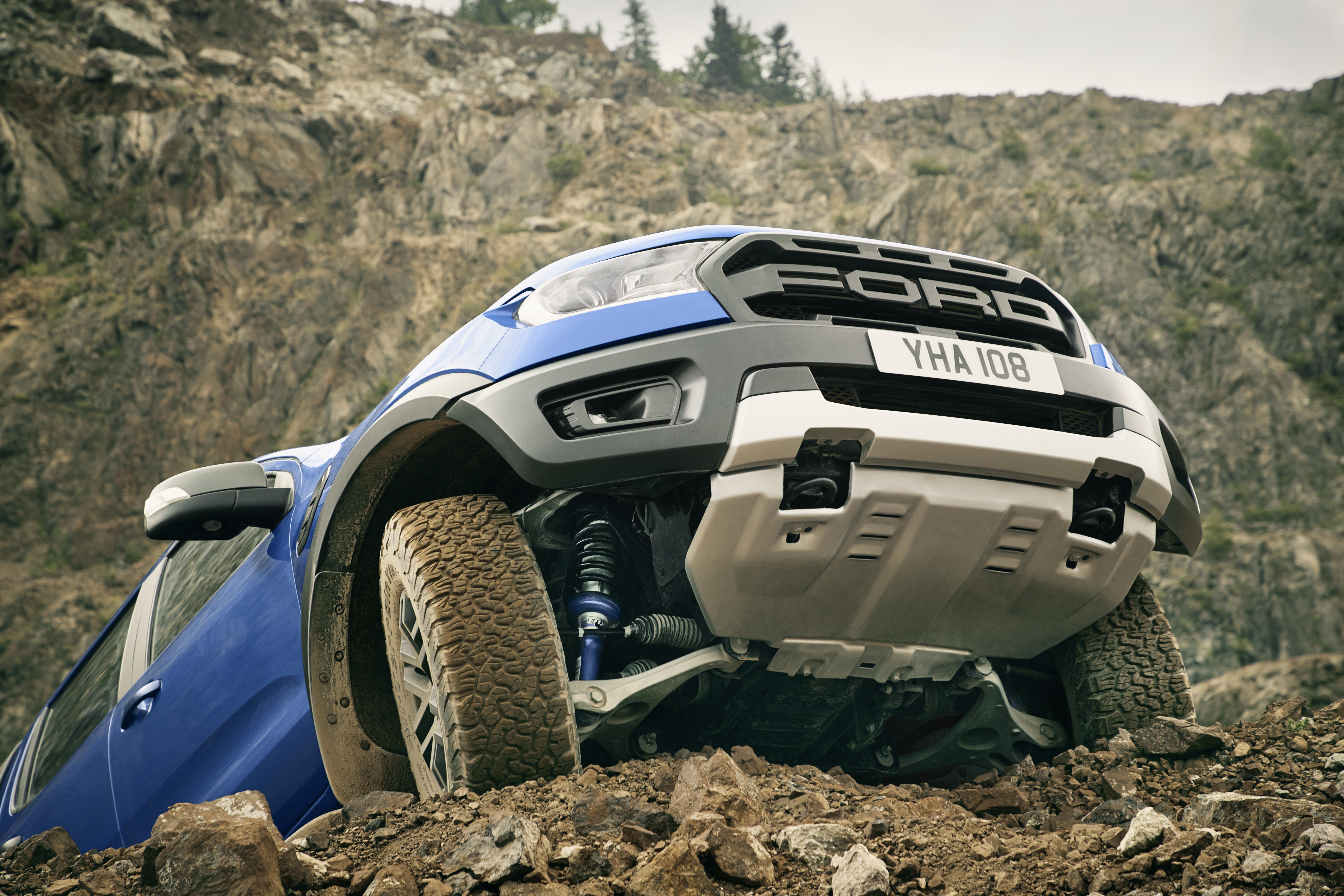 Ford Ranger Raptor chega à Europa
