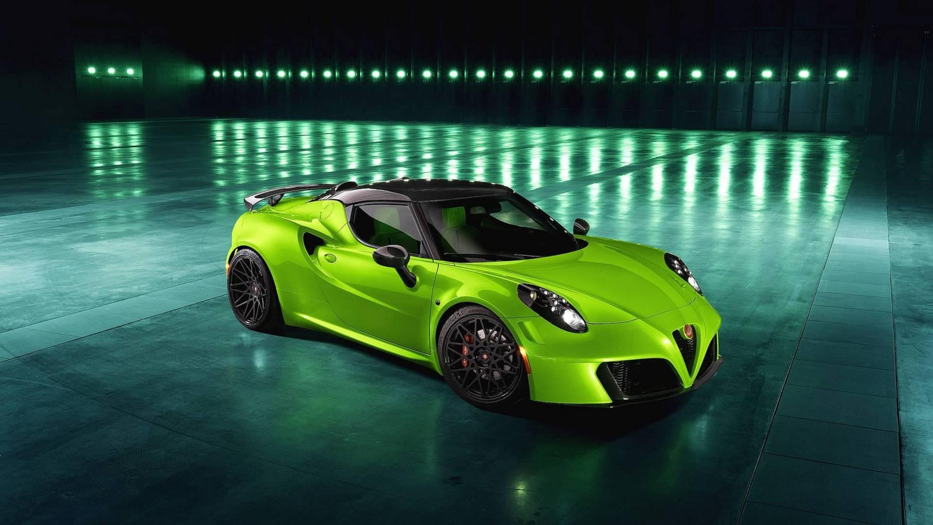 Este Alfa Romeo 4C não passará despercebido