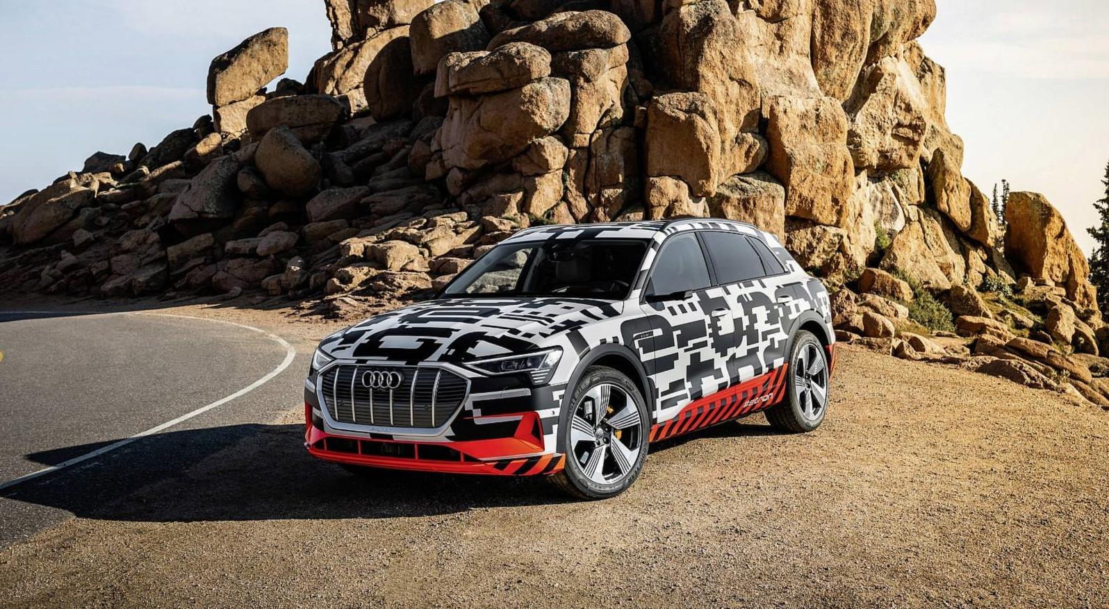 Audi demonstra eficiência do e-tron em Pikes Peak