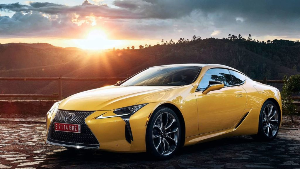 Lexus LC Yellow Edition (6)