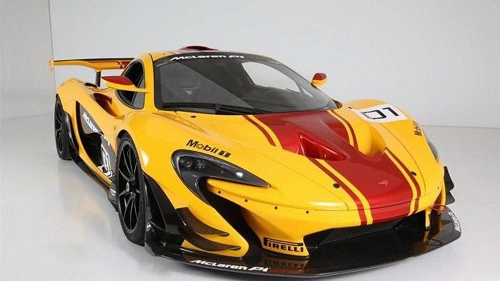 McLaren P1 GTR homologado(1)