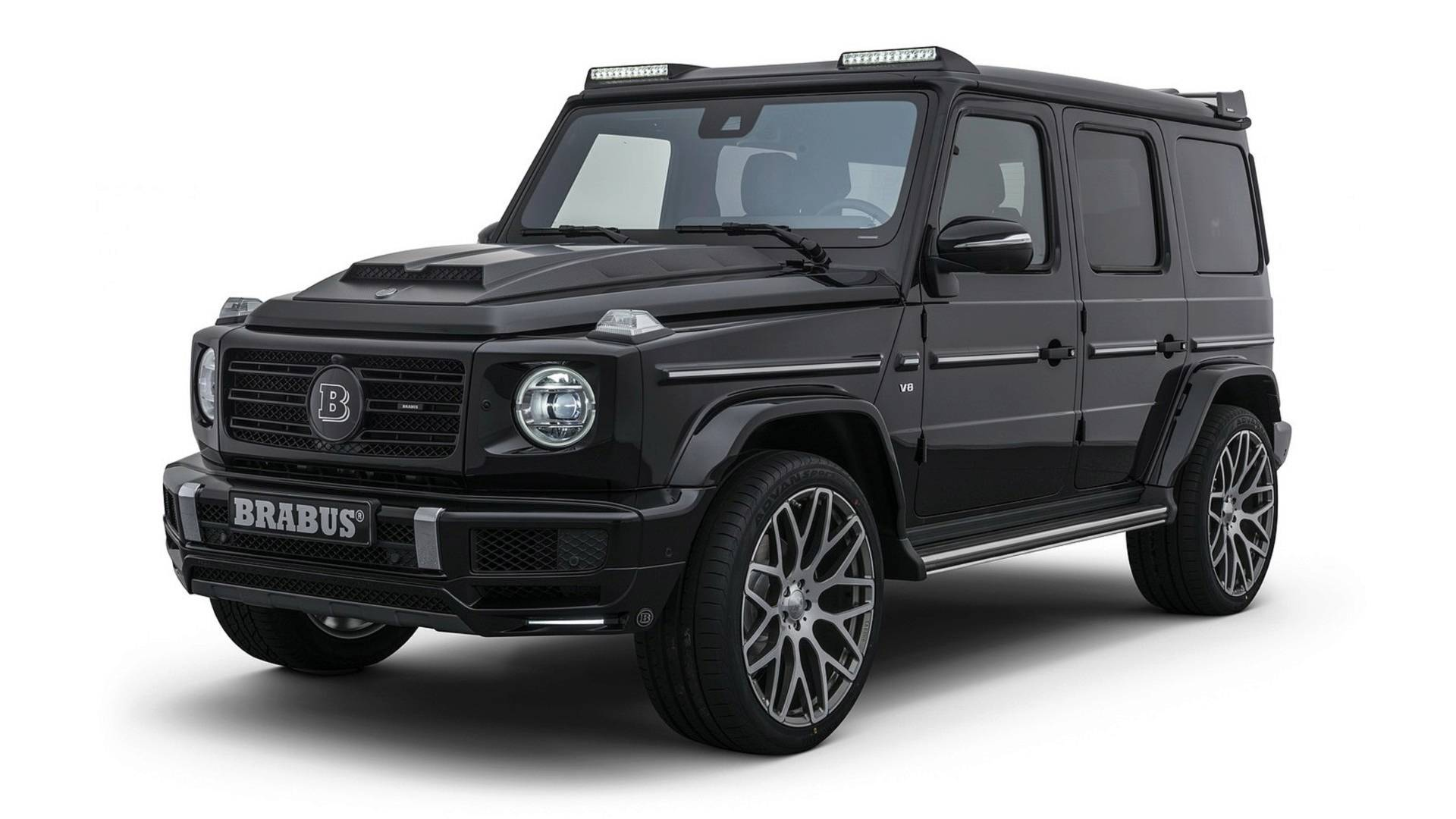 Brabus modifica novo Mercedes-Benz Classe G
