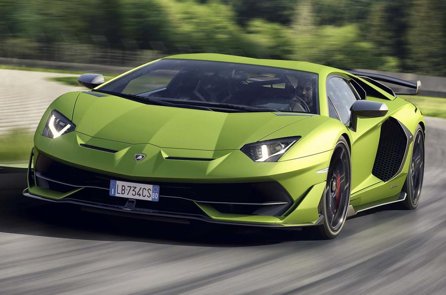 Lamborghini aventador 0-100