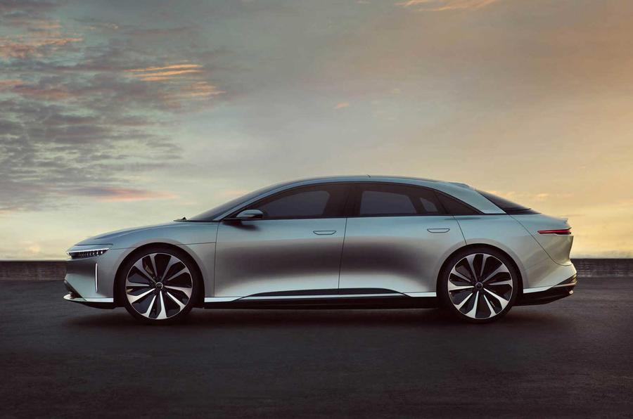 Lucid Motors recebe apoio da Arábia Saudita