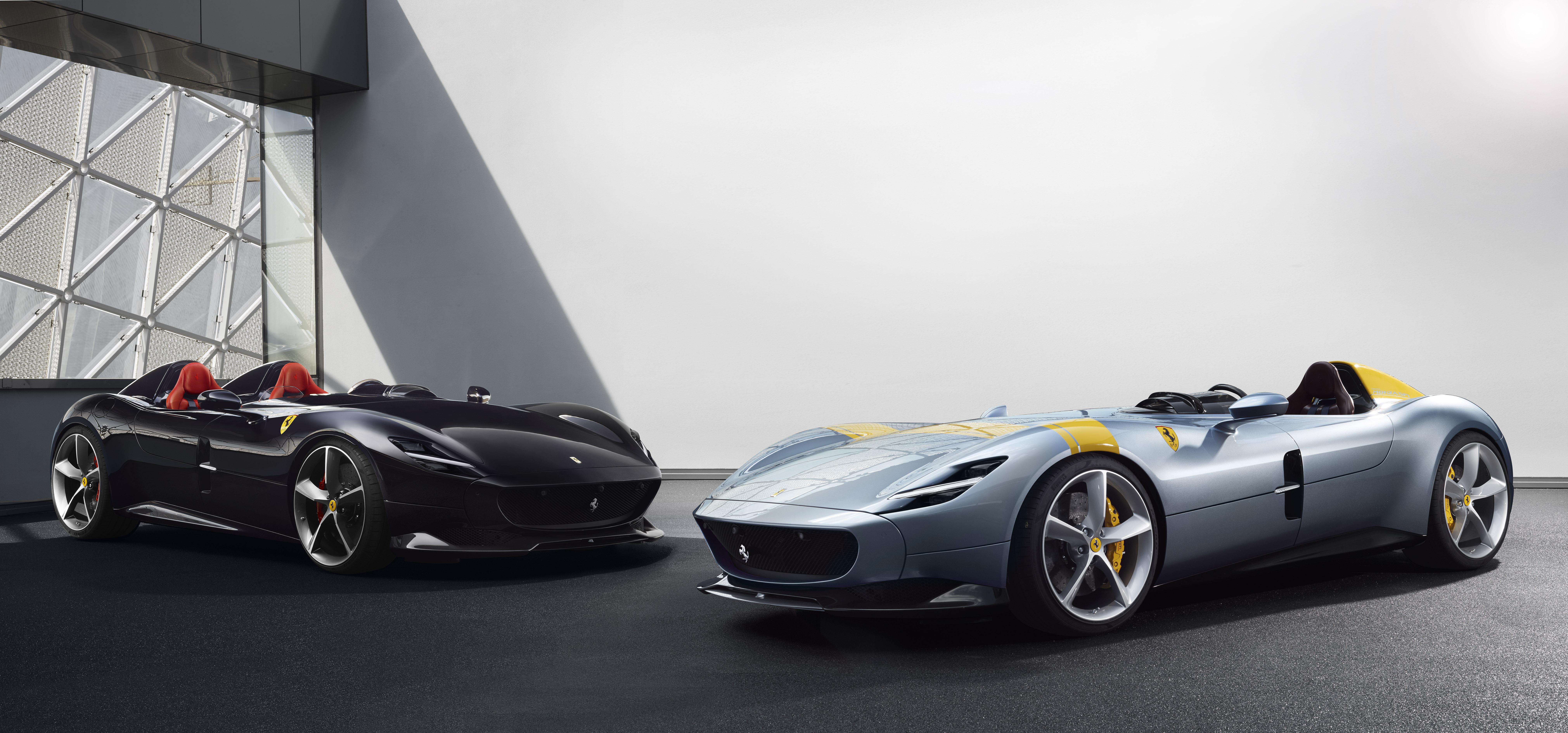 """Ferrari Monza SP1 e SP2: as """"barquettas"""" estão de regresso"""