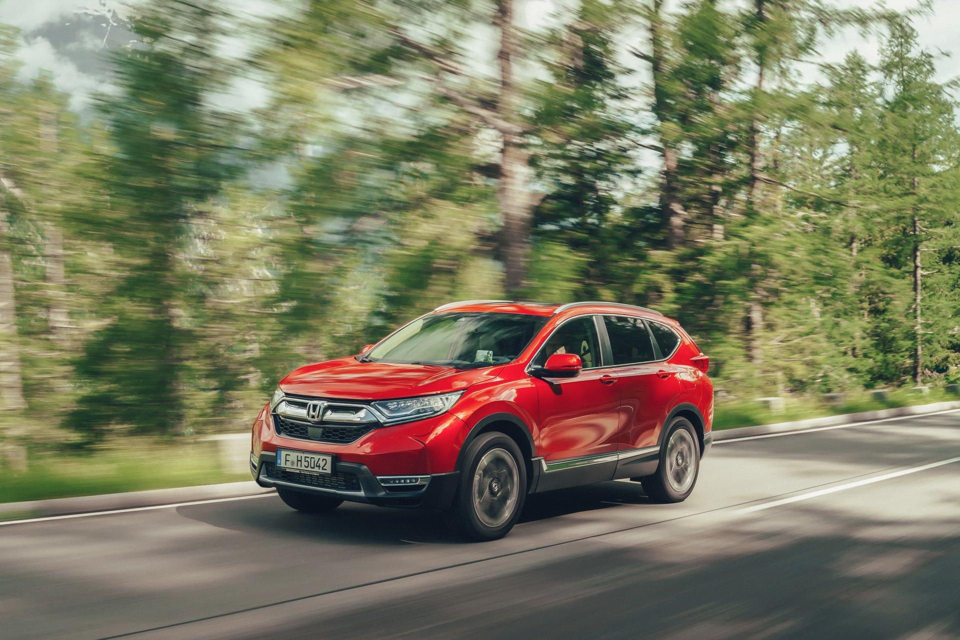 Honda CR-V Hybrid chega à Europa em 2019