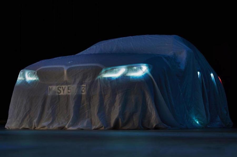 BMW Série 3: aqui está a frente do novo modelo