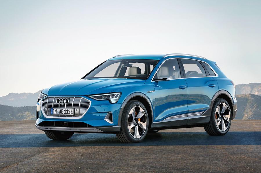 Audi e-Tron: o primeiro modelo totalmente elétrico da Audi