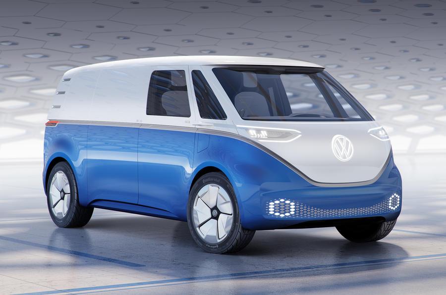 """VW ID Buzz recupera o """"Pão de forma"""" versão comercial"""