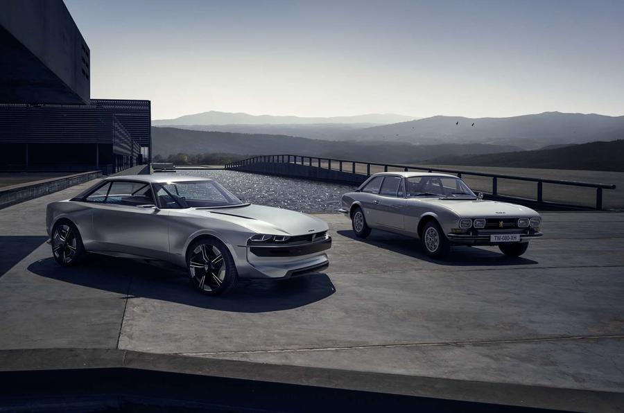 Peugeot revela e-Legend