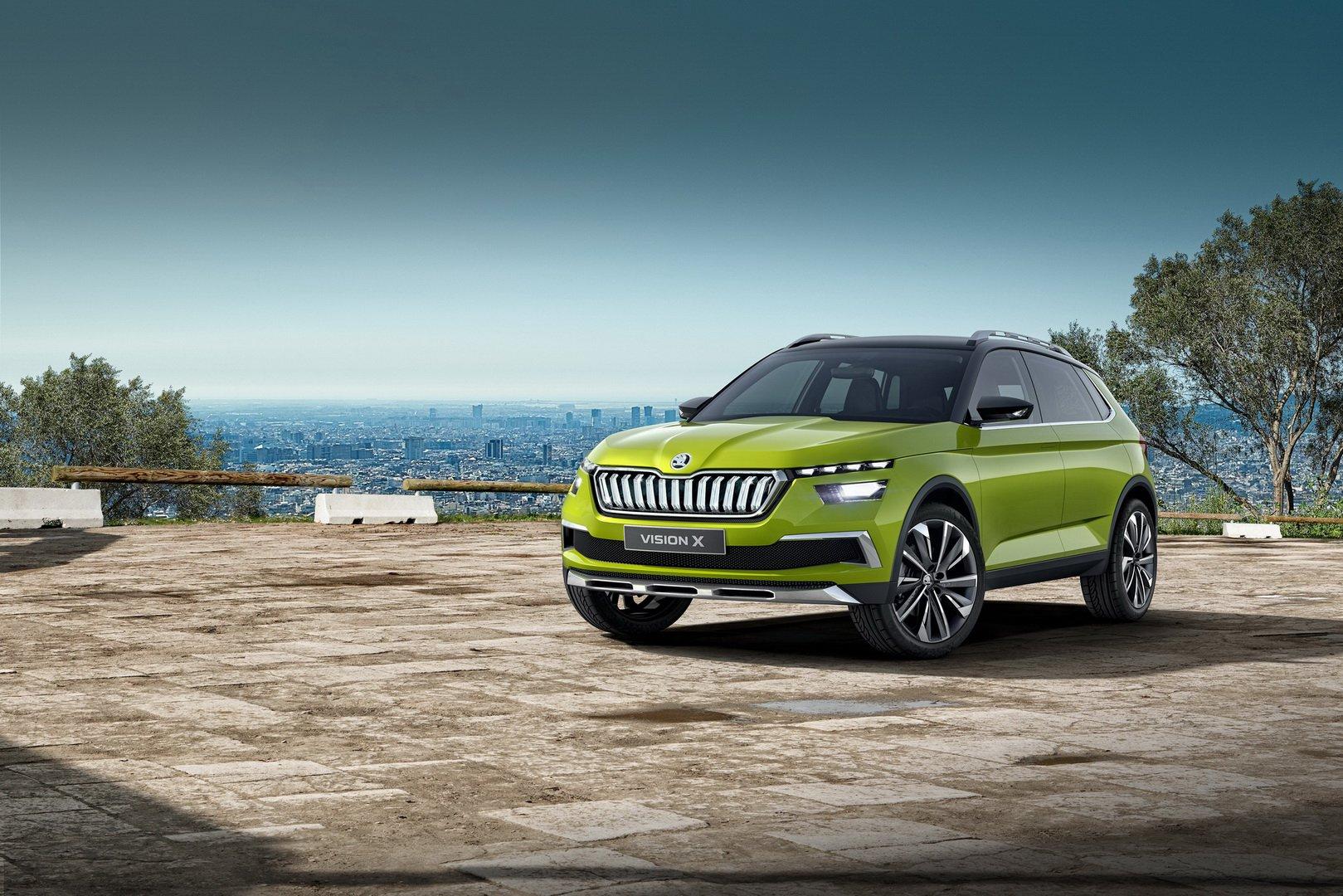 Skoda vai lançar um SUV mais pequeno que o Karoq