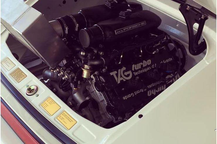E que tal cruzar um Porsche 930 Turbo com um motor de Fórmula 1?