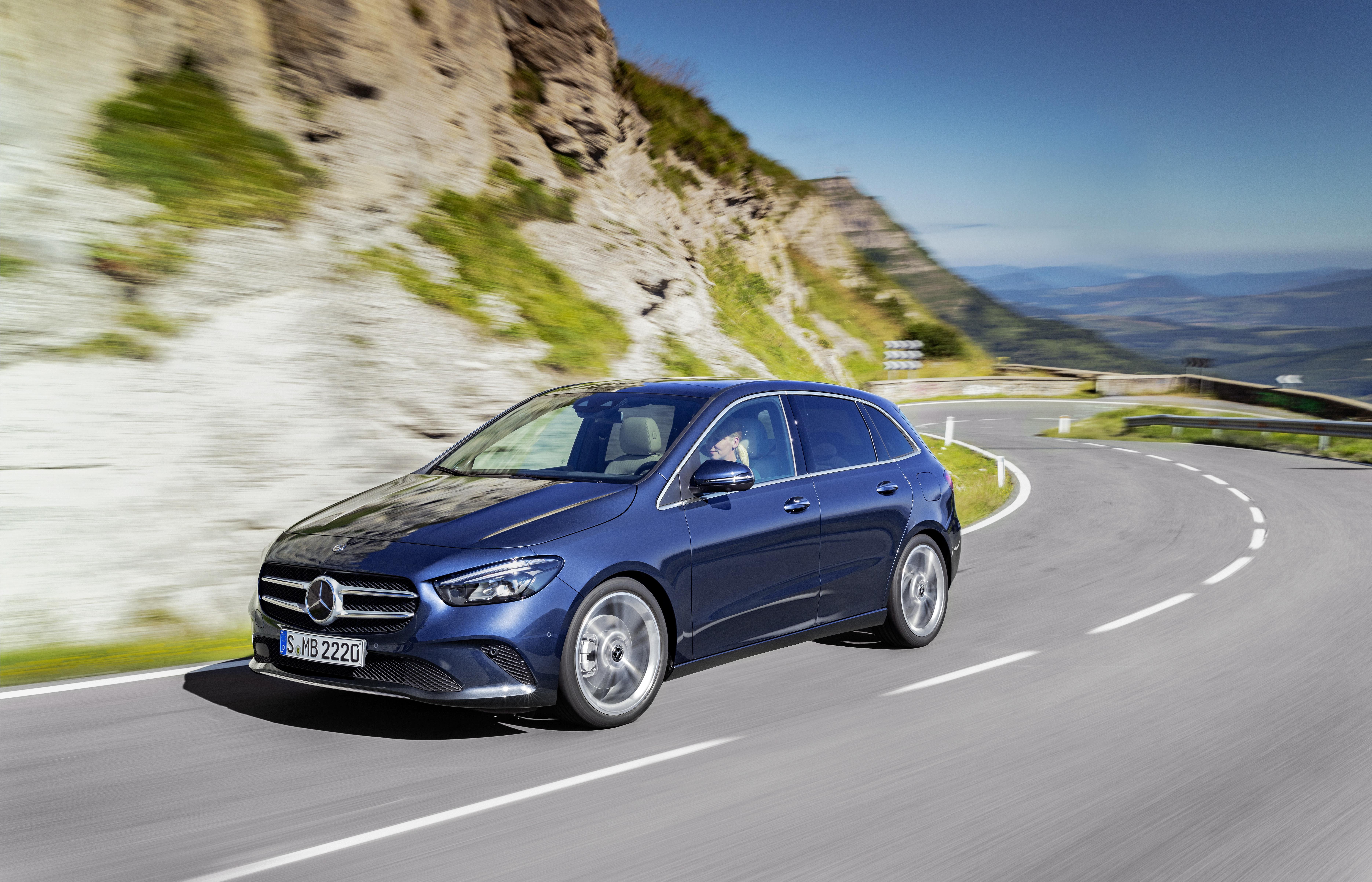 Mercedes Classe B chega a Portugal em fevereiro a partir de 35.750€
