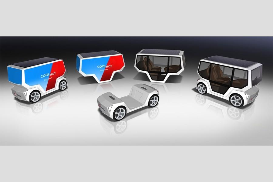 MicroSNAP: a visão da Rinspeed para um veículo autónomo e elétrico