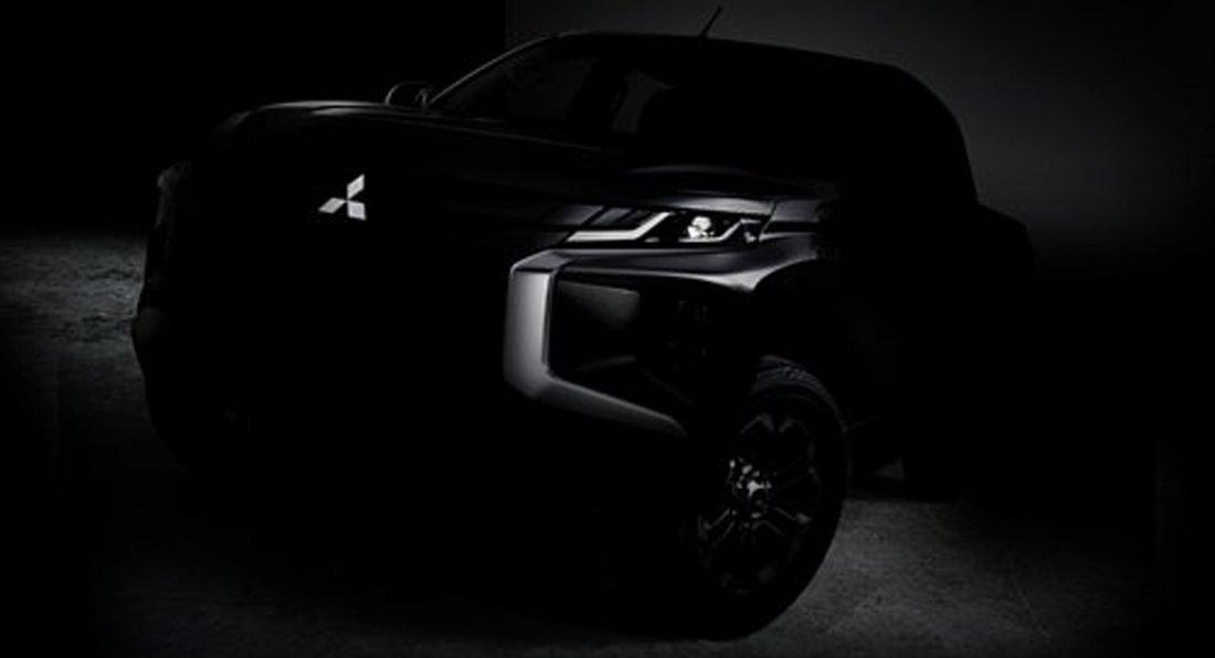 Mitsubishi revela nova L200 Pick-Up dia 9 de novembro