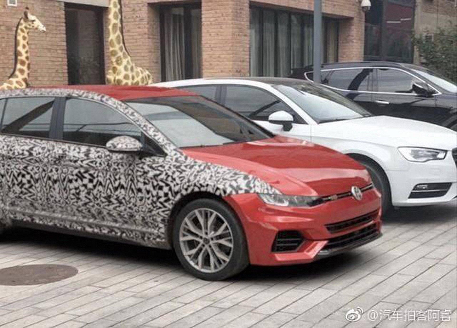 Será assim o VW Golf 8 ou é uma brincadeira da VW?