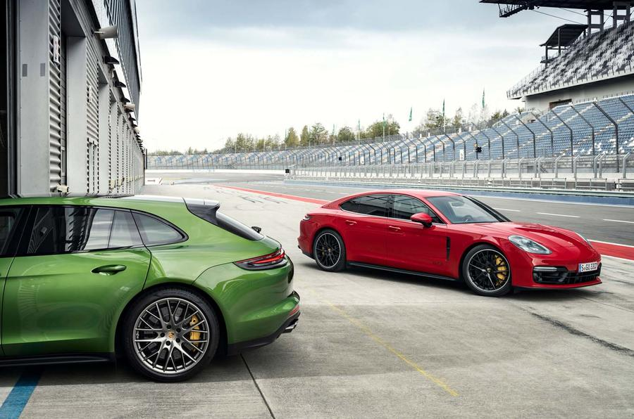 Porsche Panamera GTS em vídeo