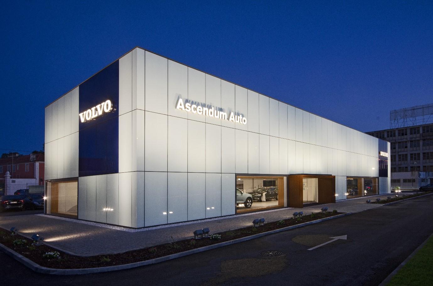 Volvo inaugura concessionário em Lisboa