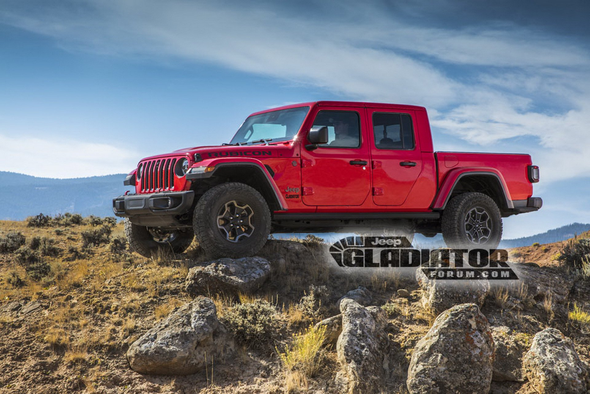 """Jeep Gladiator é a """"pick up"""" da marca americana que todos aguardavam"""