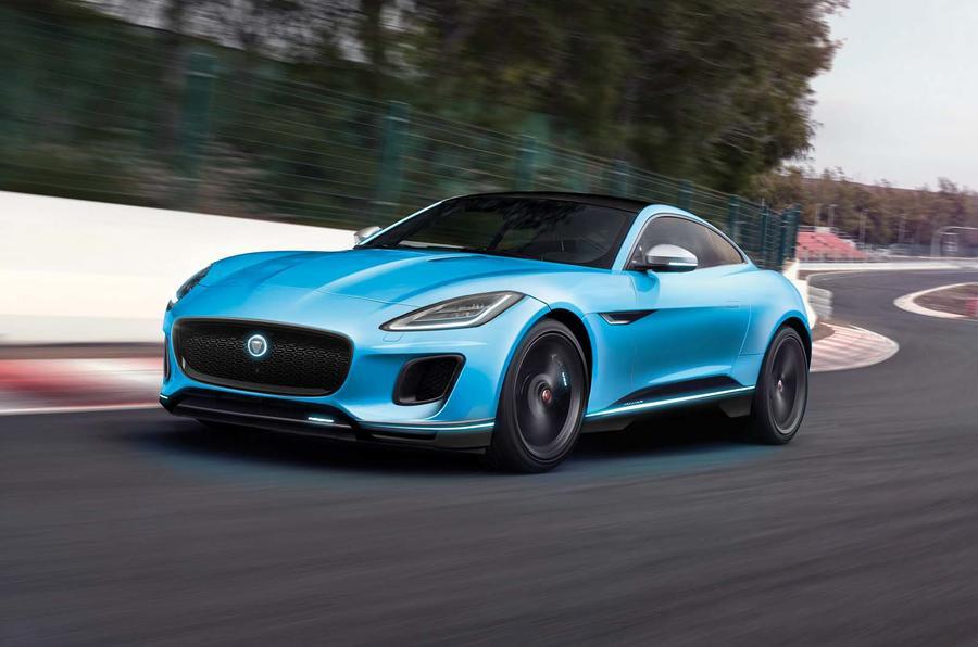 Jaguar F-Type elétrico chega em 2021