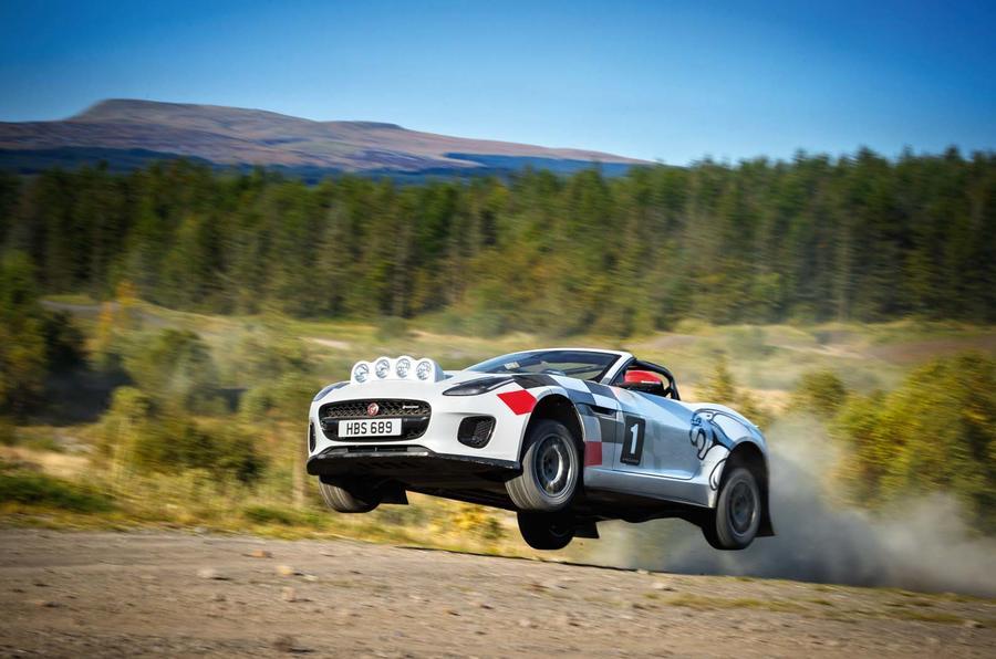 Um Jaguar F Type para os ralis?! Porque não?