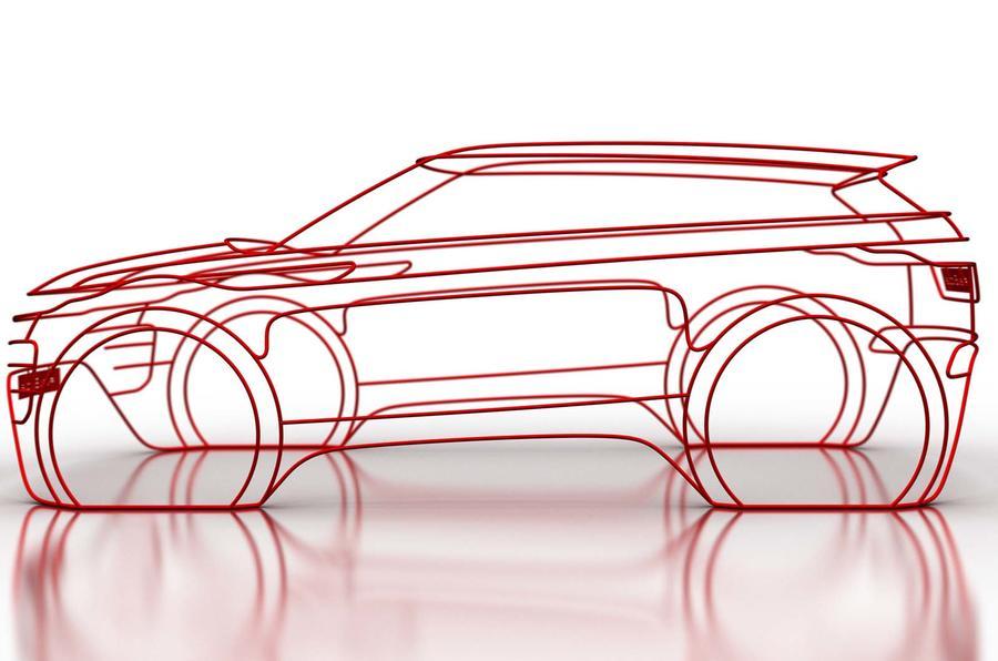 Jaguar Land Rover revela o estilo do novo Range Rover Evoque