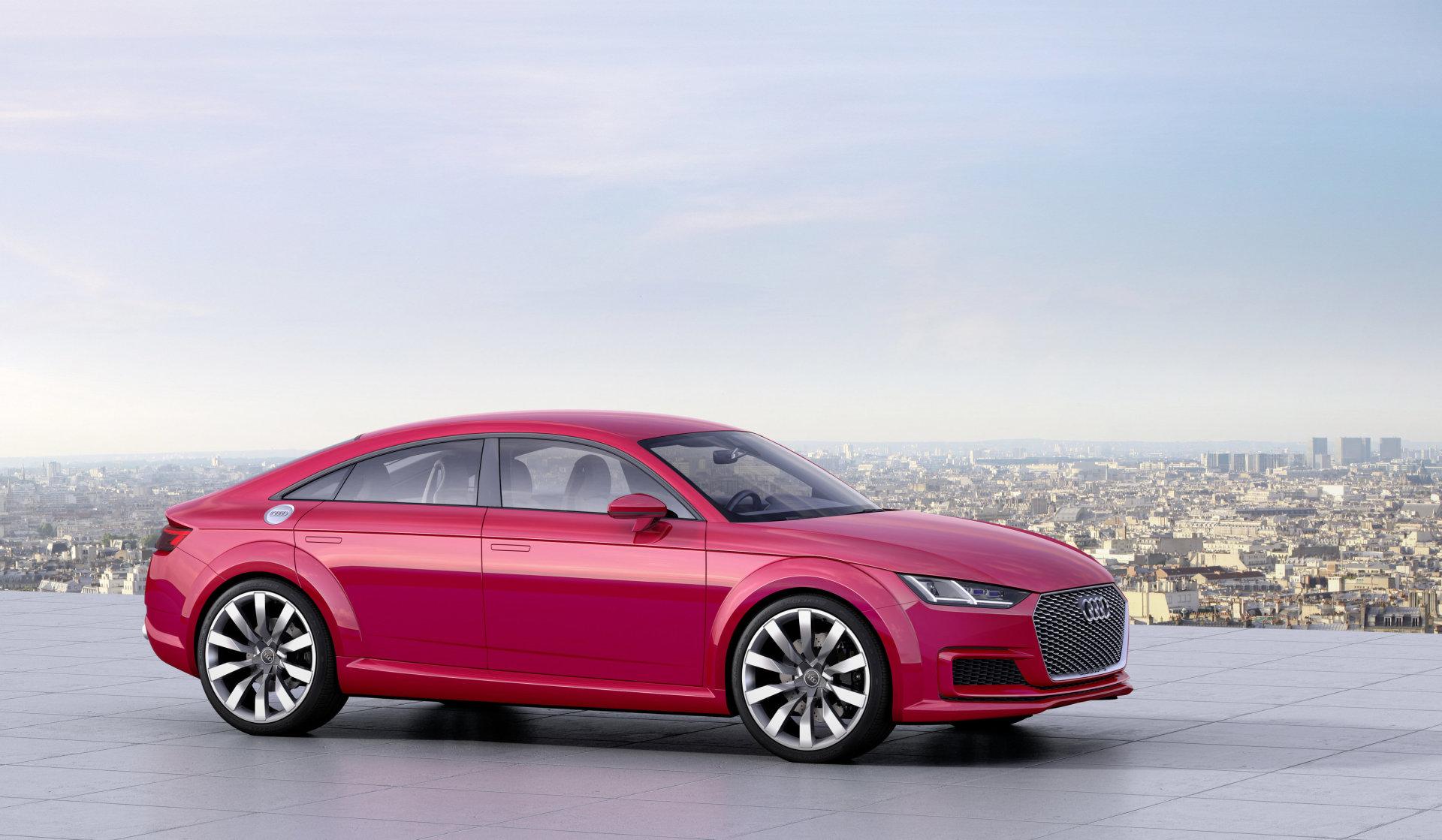 Próxima geração do Audi TT terá versão de quatro portas