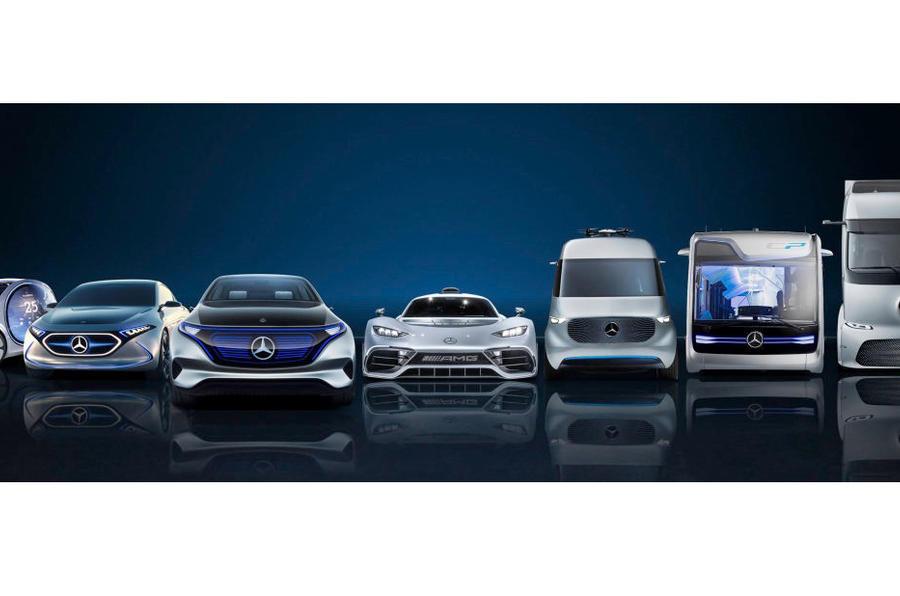 Mercedes comprou mais de 20 mil milhões de euros de baterias