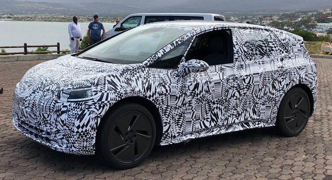 """Volkswagen ID """"apanhado"""" na África do Sul em testes de desenvolvimento"""