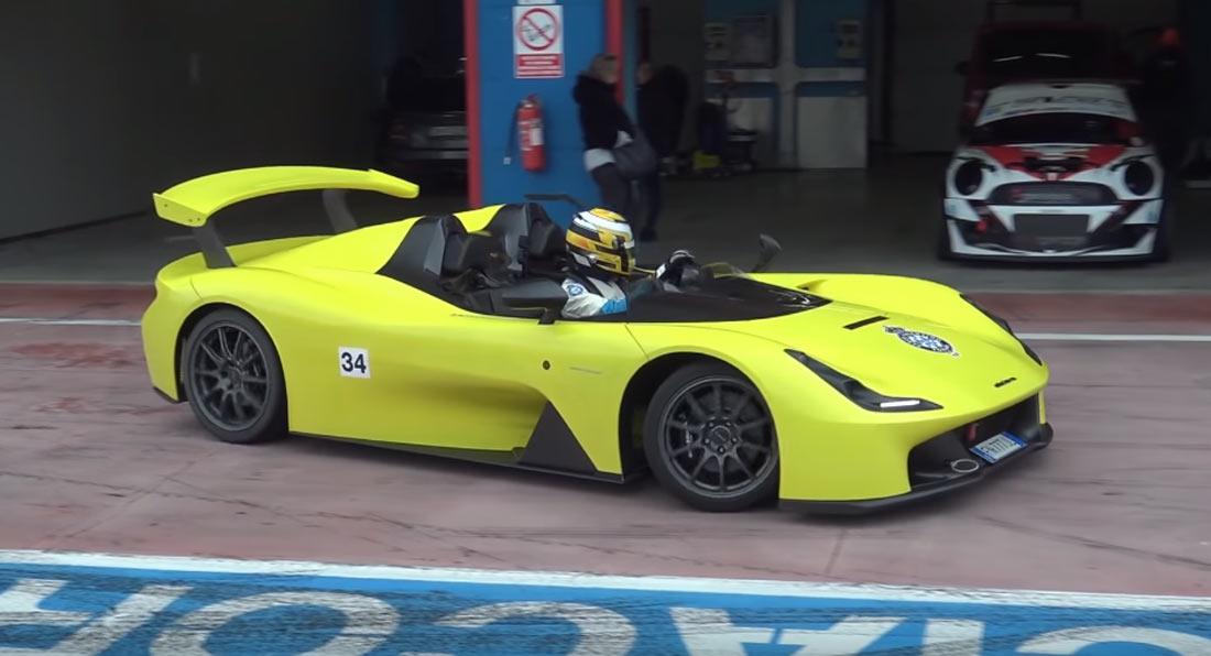 """Dallara Stradale: uma """"bomba"""" com 400 CV feito por quem sabe, custa 155 mil euros"""