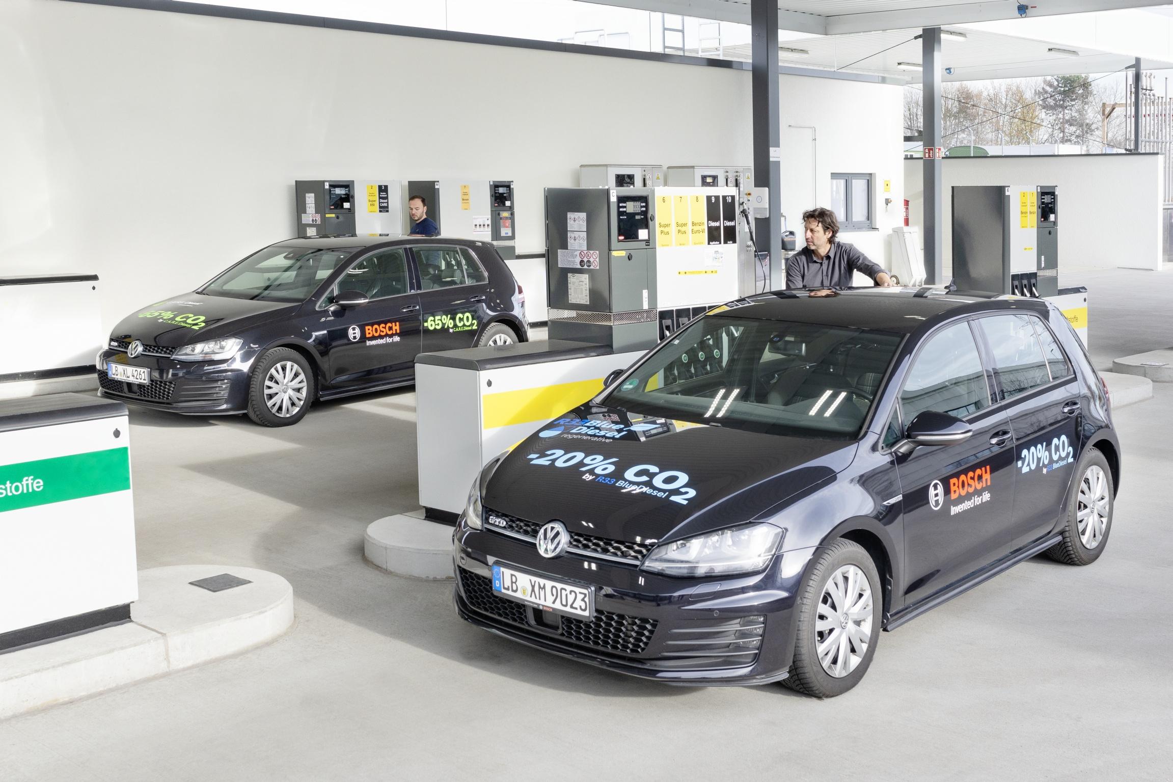 Bosch testa gasóleo renovável para reduzir emissões de CO2