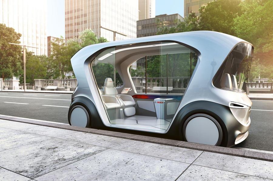 """Bosch revela """"shuttle"""" autónomo no CES 2019"""