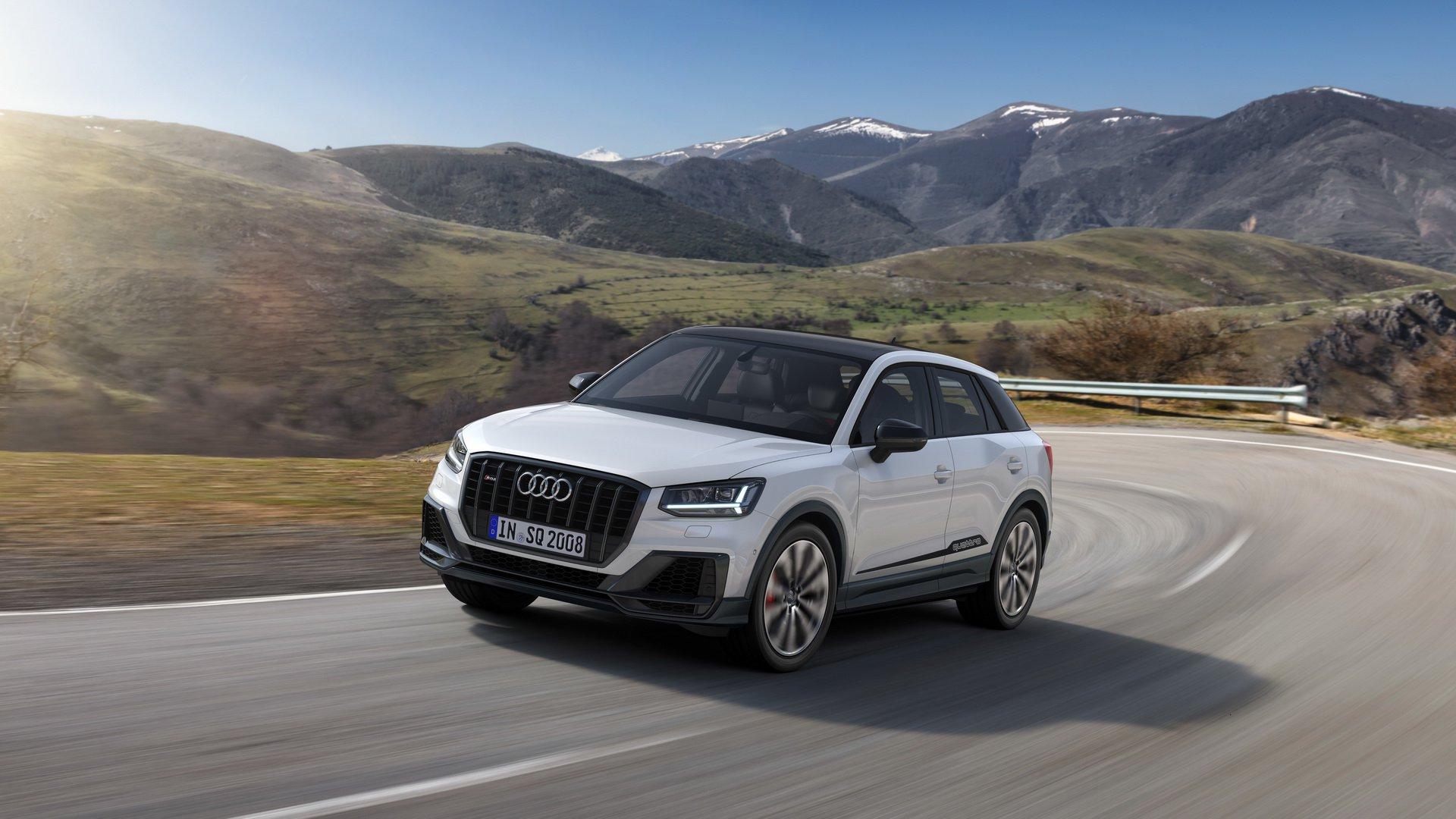 Audi revela versão desportiva do Q2: com 300 CV chama-se SQ2