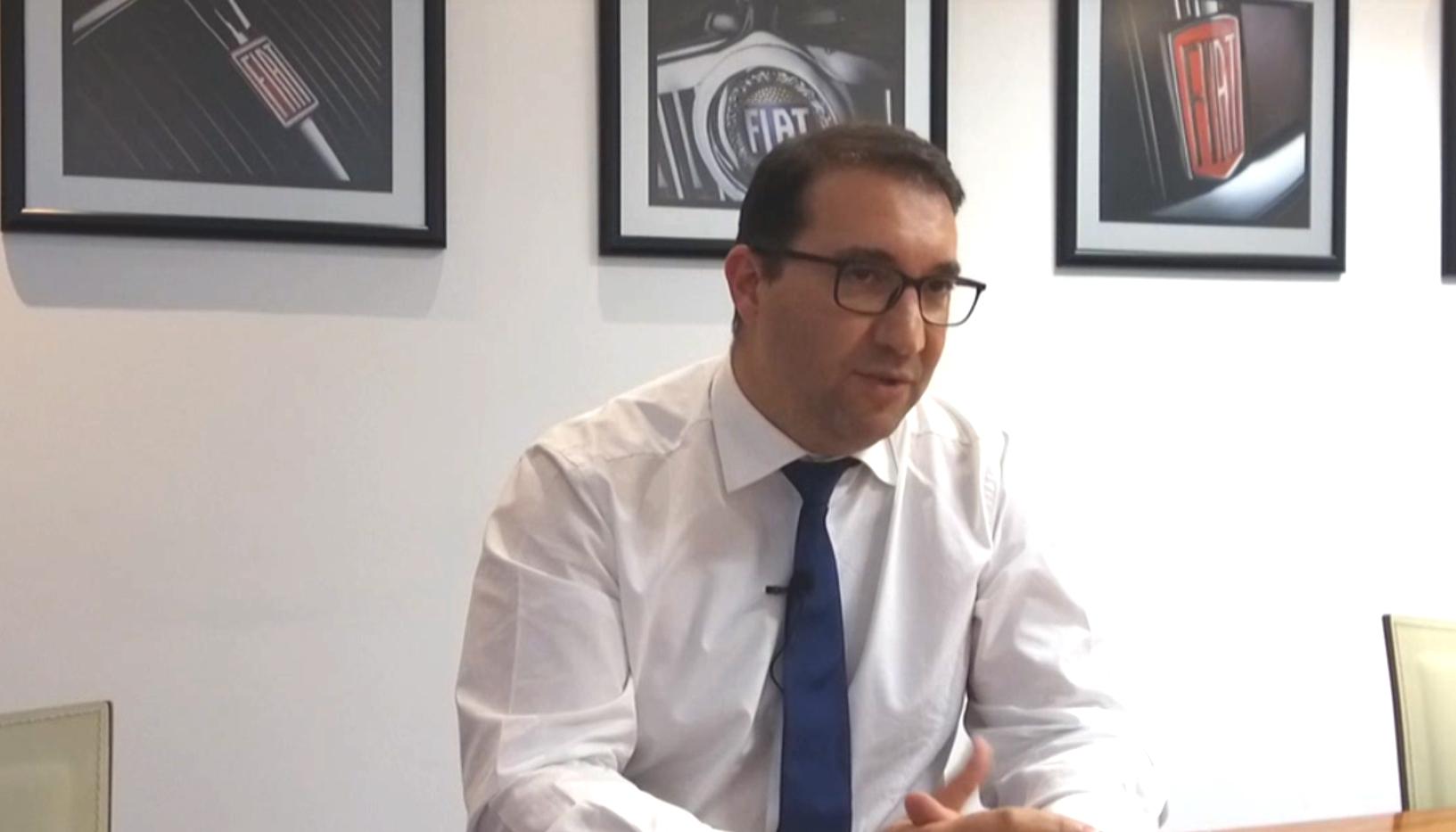 Artur Fernandes, diretor geral da FCA Portugal, em entrevista