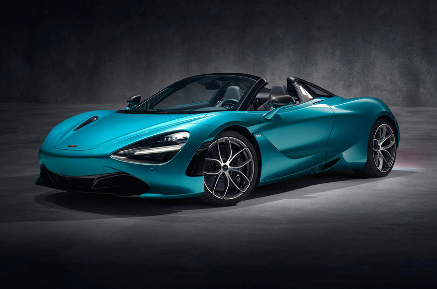 McLaren revela versão descapotável do 720S